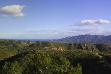 The veiw from Mojacar, Almeria