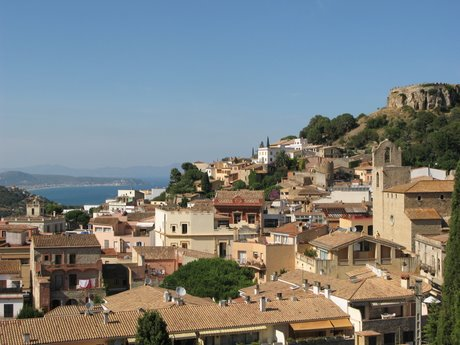 Begur, on the Costa Brava