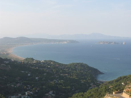 Coastaline of the Alt Empordà, Catalonia (Costa Brava)