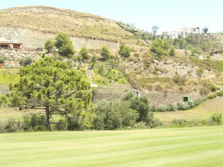 The plot on Marbella Club Golf