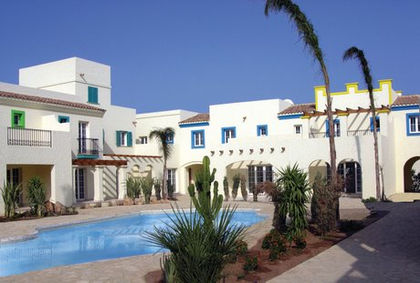 Town houses at Desert Springs, Almeria