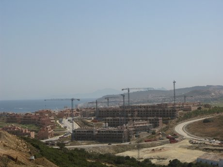 Holiday homes being built on the Costa del Sol