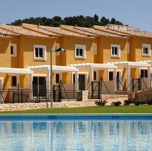Taylor Woodrow townhouses in Calpesol, Costa Blanca
