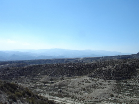 The Almanzora region in Almeria