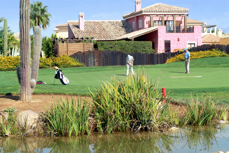 A typicall scene at Deserts Springs in Almeria
