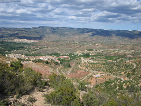 Zarra, Valencia, in the Ayora Valley