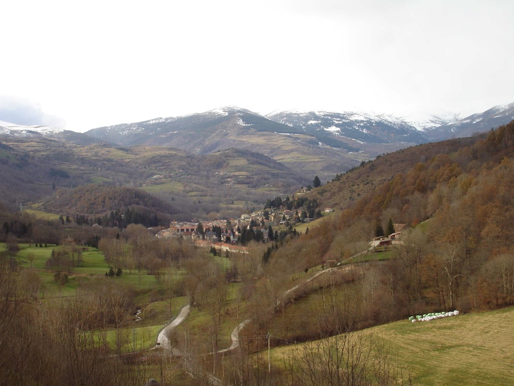 Camprodon, in the Catalan Pyrenees
