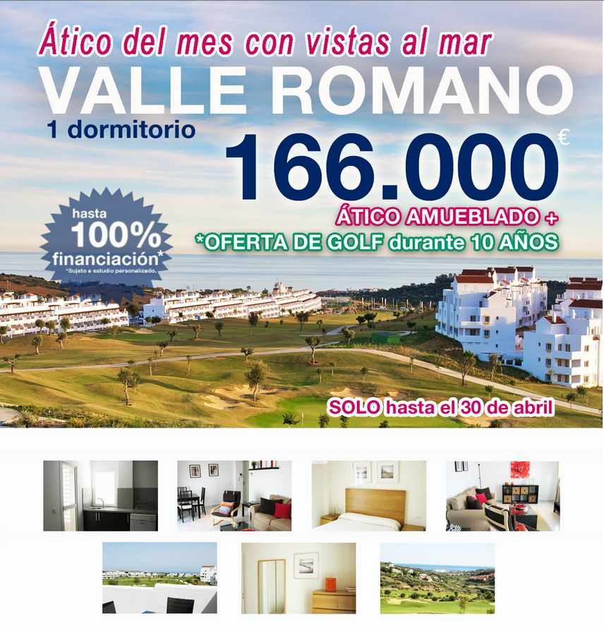 Valle Romano golf resort penthouse offer