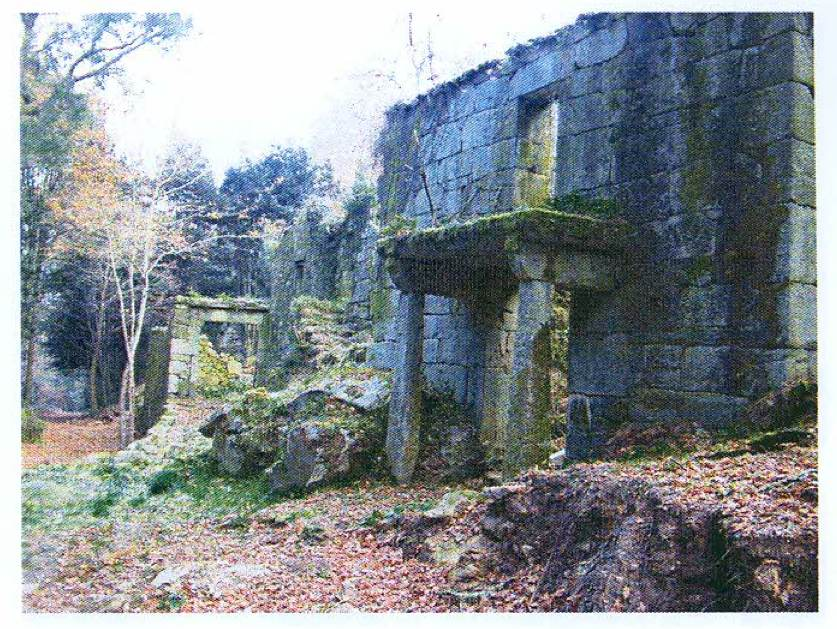 A Barca abandoned village house in Galicia Spain
