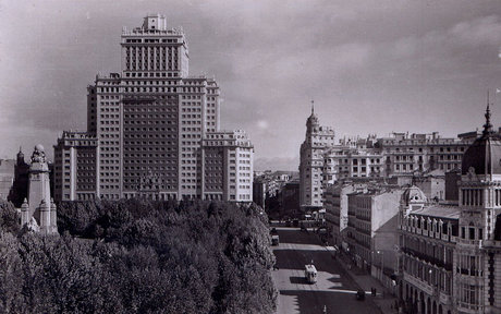 Edificio Espana in the 1950s (Courtesy: Wikicommons)