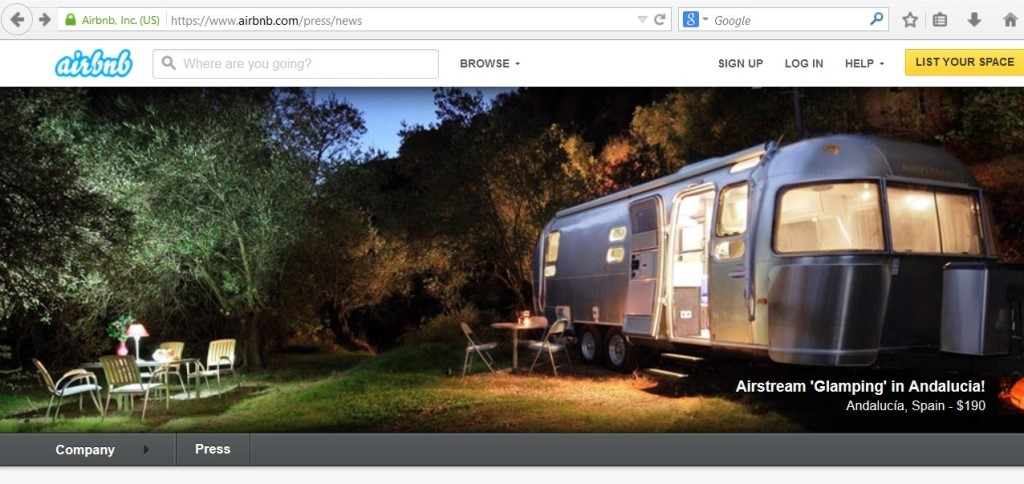Airbnb_Web site