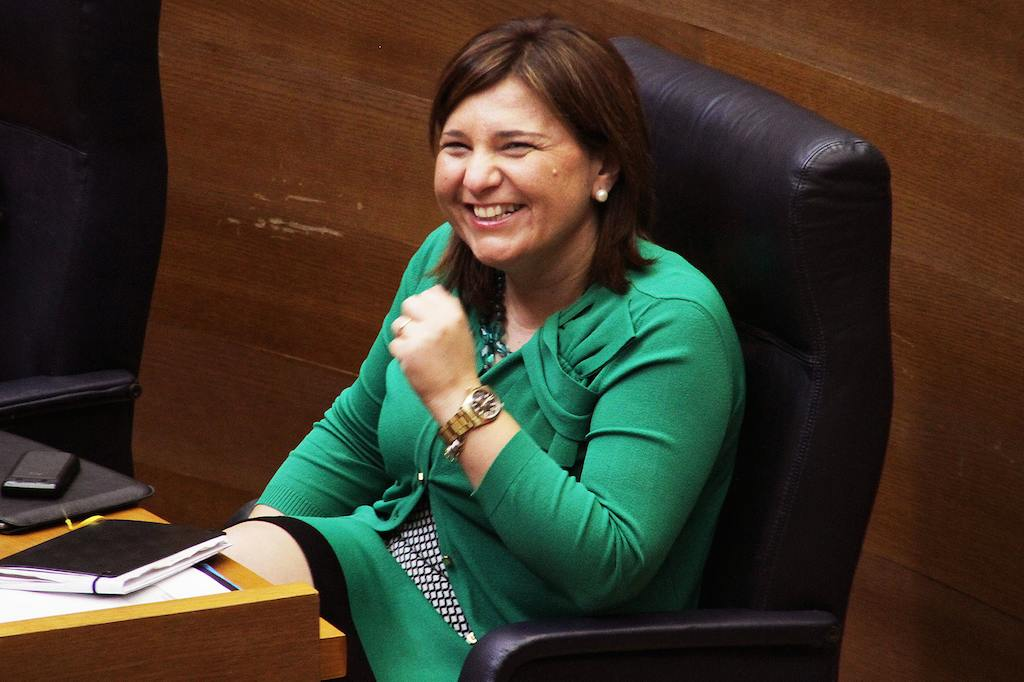 Isabel Bonig, Valencian Councillor for Infrastructure, Land and the Environment