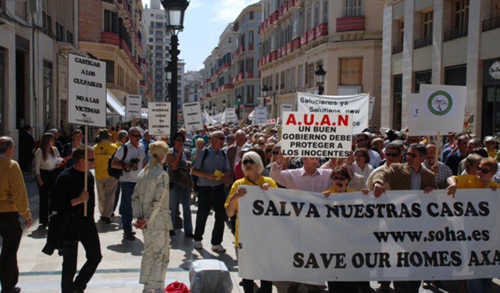 Almeria demonstration/Photo: AUAN