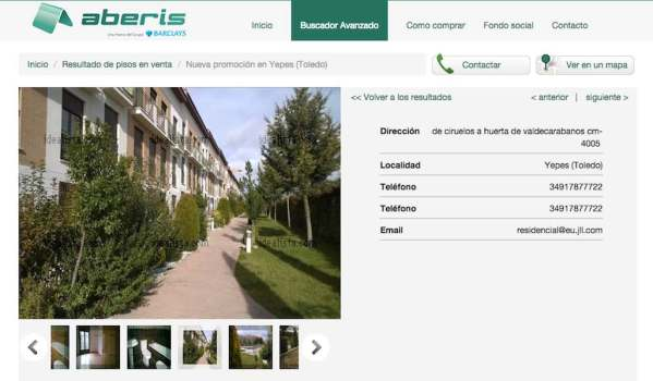 Barclays Spanish property for sale in Yepes, Toledo, below replacement costs.