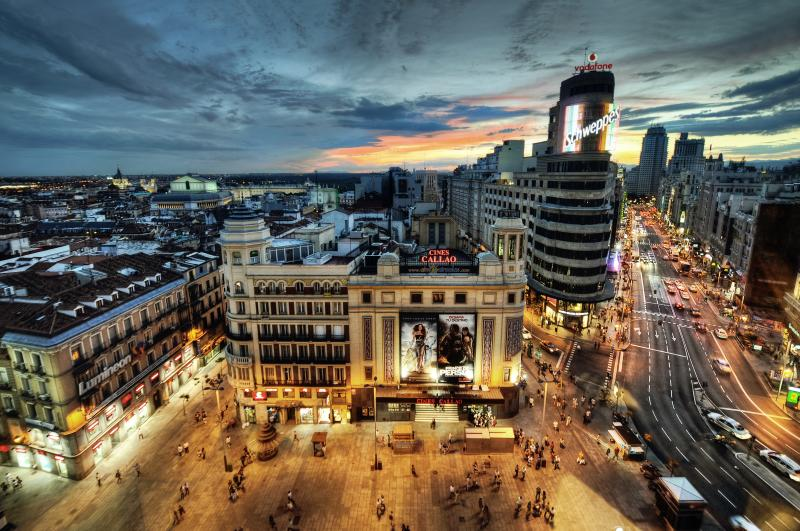 Madrid, investment hotspot. Photo credit: cuellar / Foter / CC BY-NC