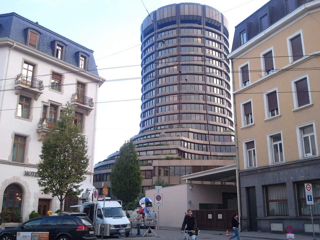 Bank of International Settlements in Basel, home of the Basel Committee. Photo credit: pppspics / Foter / CC BY