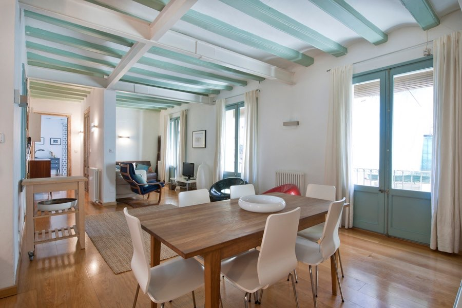 Rental flat in Barcelona's Raval district