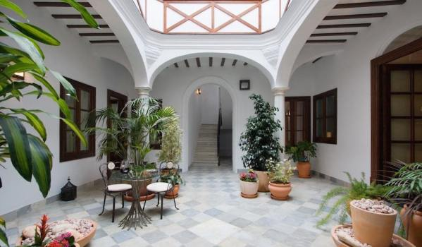 Classic interior courtyard / patio in Andalusia