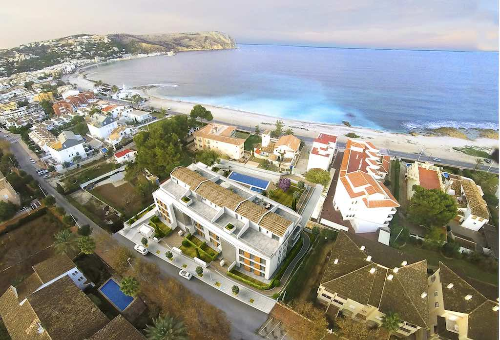 Taylor Wimpey Españas Jardin del Mar Blanca new development in Javea, North Costa Brava