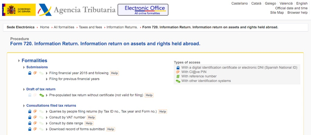The Spanish 'Modelo 720' Worldwide Asset Declaration Form is a headache for expats in Spain