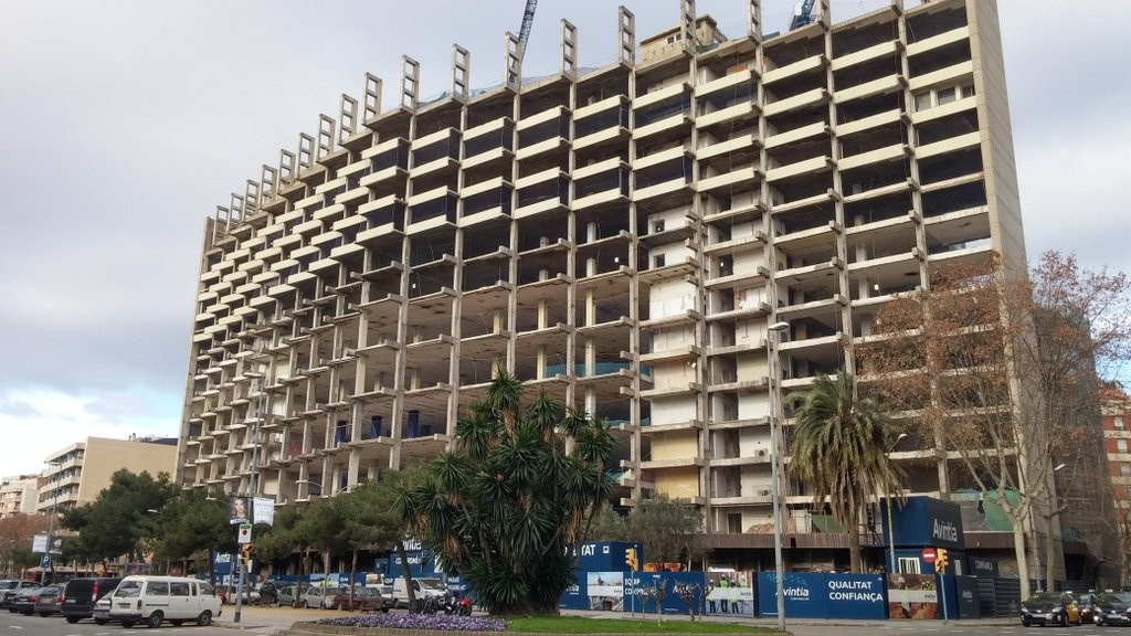 New homes being built in Barcelona, where prices are forecast to rise by more than 5% this year.