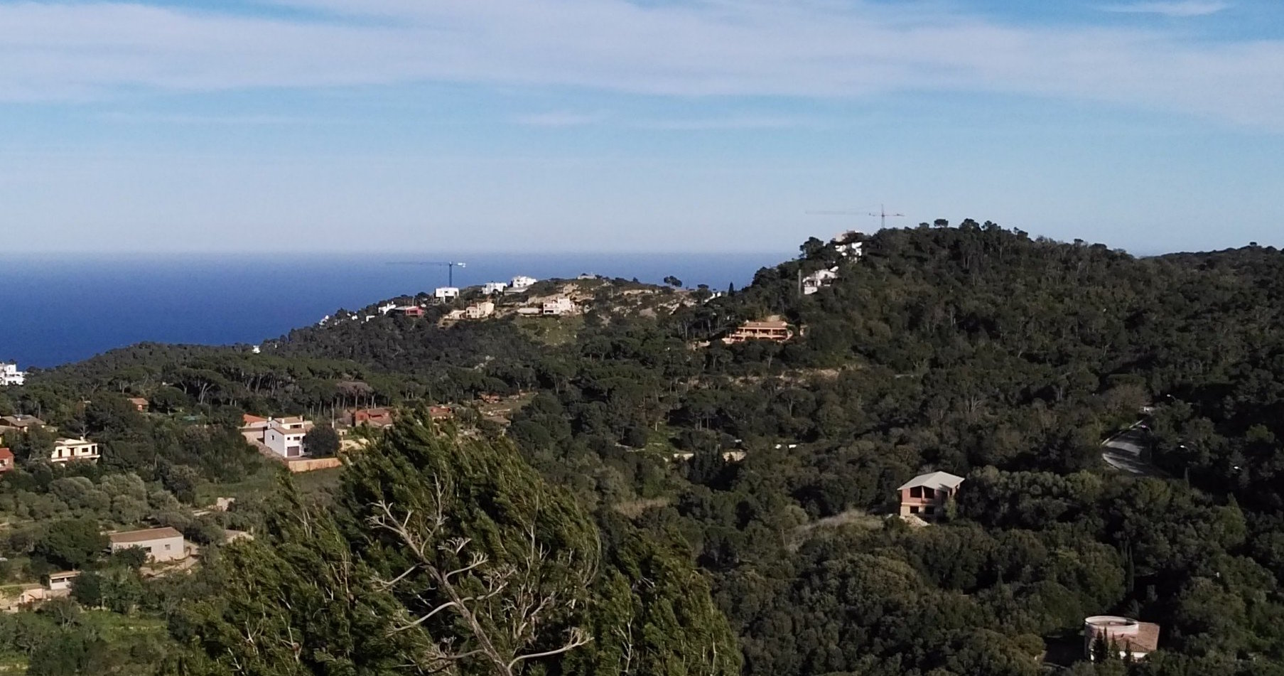 new home building on the Costa Brava