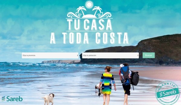 "Sareb ""Bad Bank"" repossessed holiday-home sales campaign 2016 tu casa a toda costa your home at any cost"