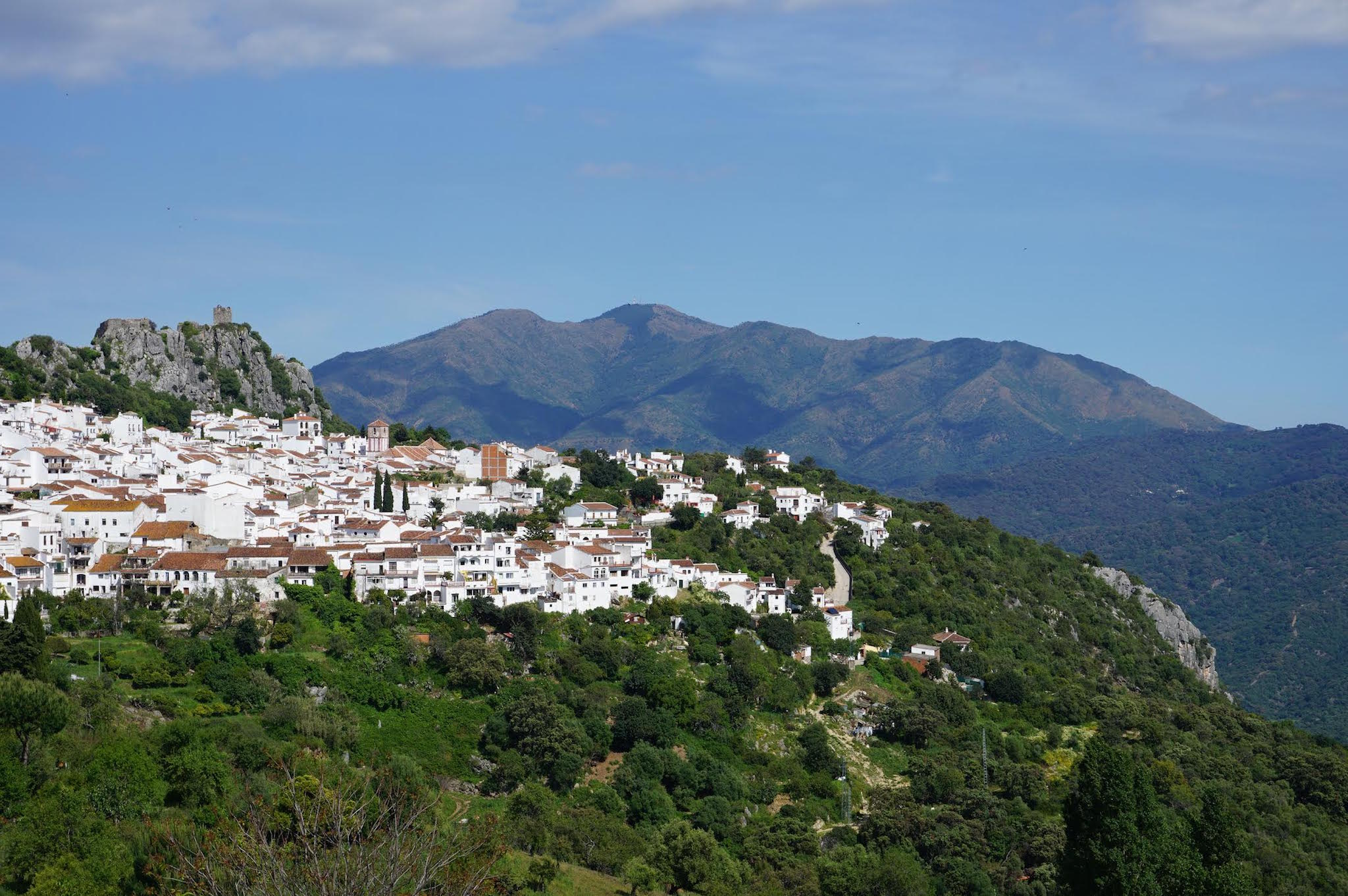 Gaucín, one of the quintessential 'pueblos blancos' of Andalucía property for sale