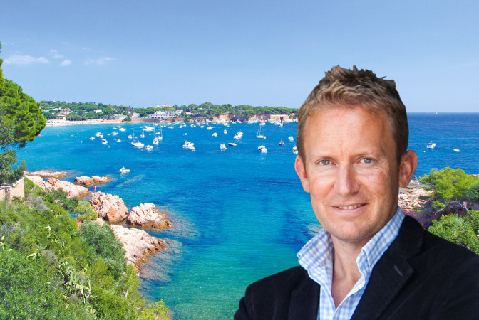 Tom Maidment, Lucas Fox partner in the Costa Brava