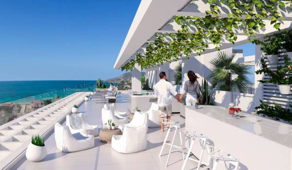 Calpe Beach new development for sale in Calpe, North Costa Blanca, Alicante province, Spain off-plan