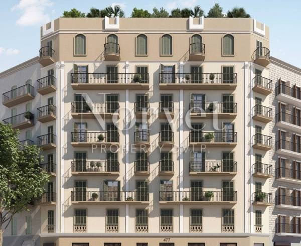 Aragon 477, new apartments for sale in Barcelona