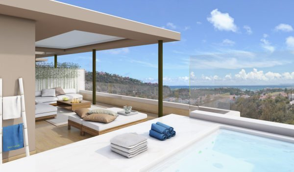 Botanic, one of the new developments for sale on the Costa del Sol