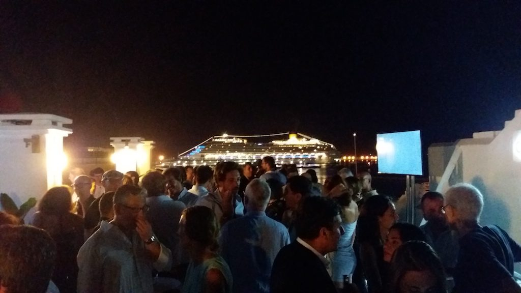 TWA Cala Comte launch party at the Ocean Drive Ibiza