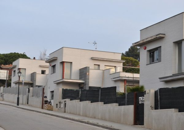 Picture of the broken development in Sant Vicenç de Montalt (credit Ayuntamiento).