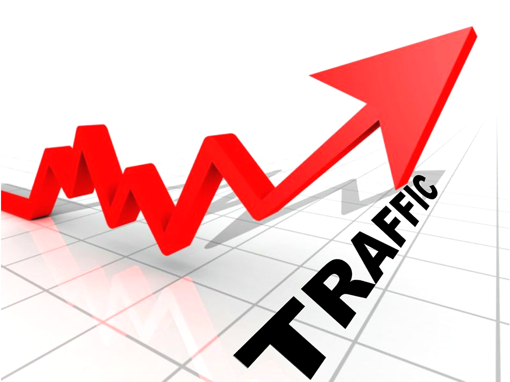 Spanish real estate agent website traffic rising